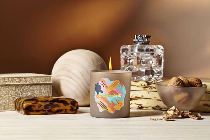 产品图片:斑纹木蜡烛