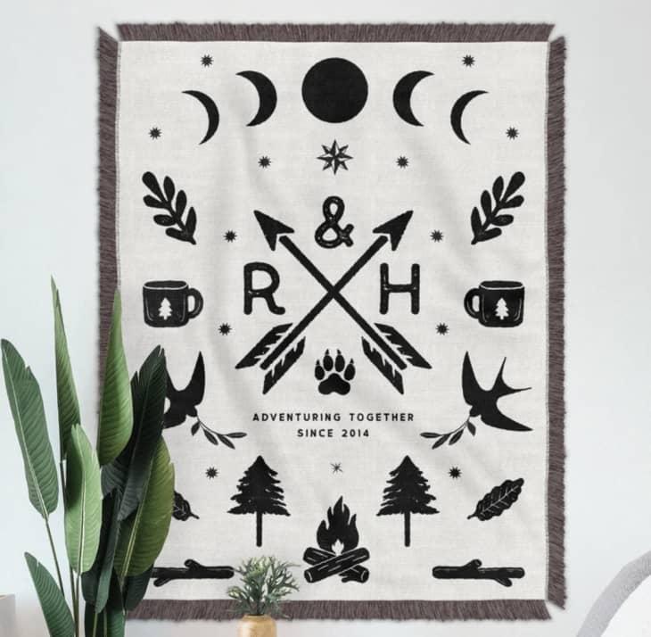 产品图片:定制编织毛毯