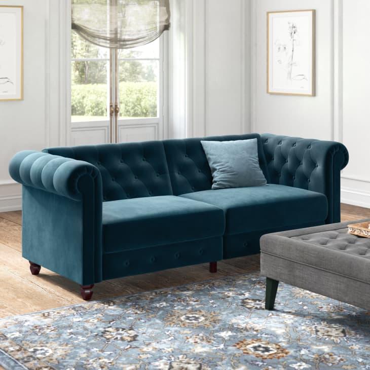 产品图片:达拉斯簇绒背敞篷切斯特菲尔德沙发