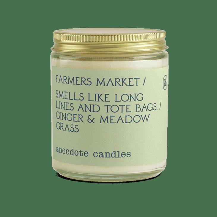 产品形象:农贸市场蜡烛