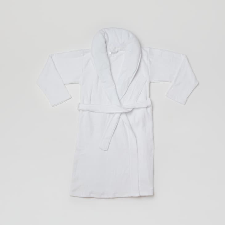 产品形象:重力毛巾布加重睡袍
