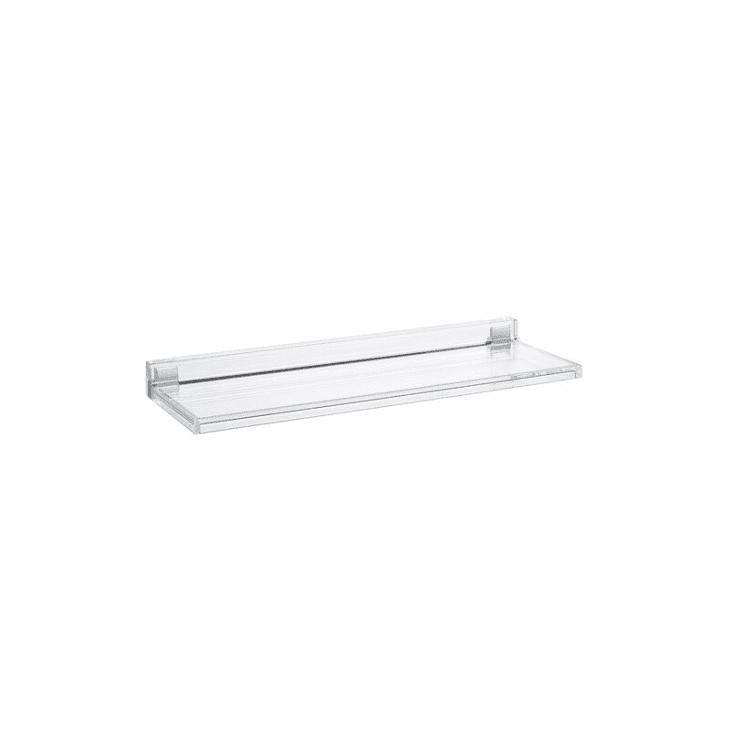产品形象:Kartell Crystal Shelfish Floating Shelf