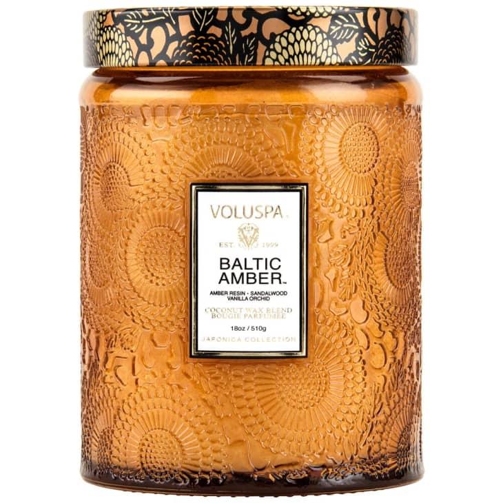 产品图片:VolUspa波罗的海琥珀蜡烛,18盎司