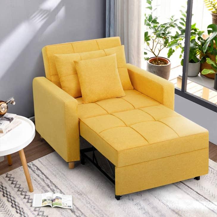 产品图片:Esright可转换椅床3合1