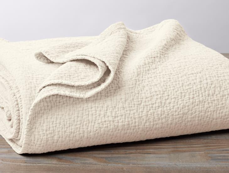 产品形象:Coyuchi级联有机马特拉斯毛毯