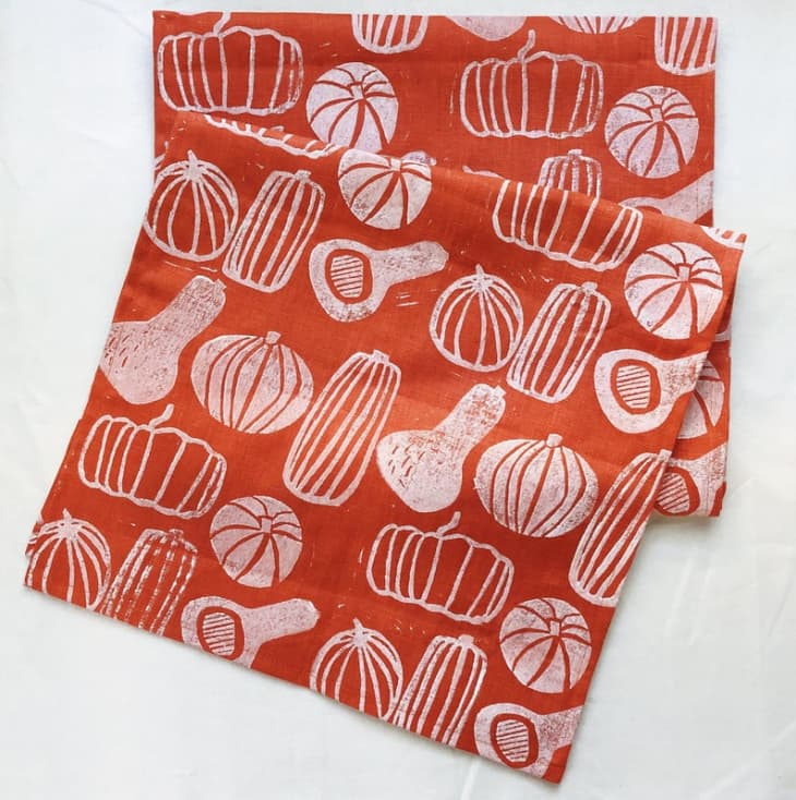 Product Image: juliepeach Orange Fall Table Runner