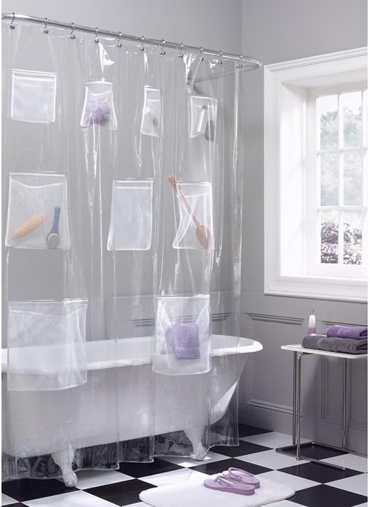 产品图片:Maytex快速干式网袋口袋淋浴器衬里