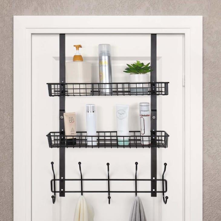 Amazon Over Door Bathroom Storage Apartment Therapy