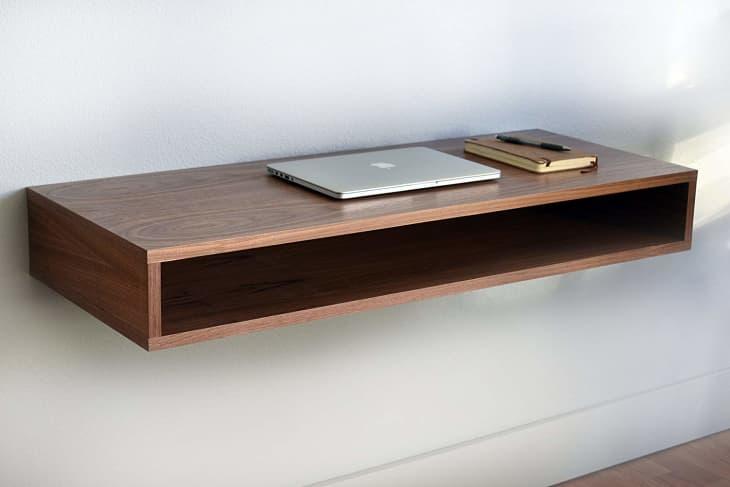 Product Image: Walnut Floating Desk