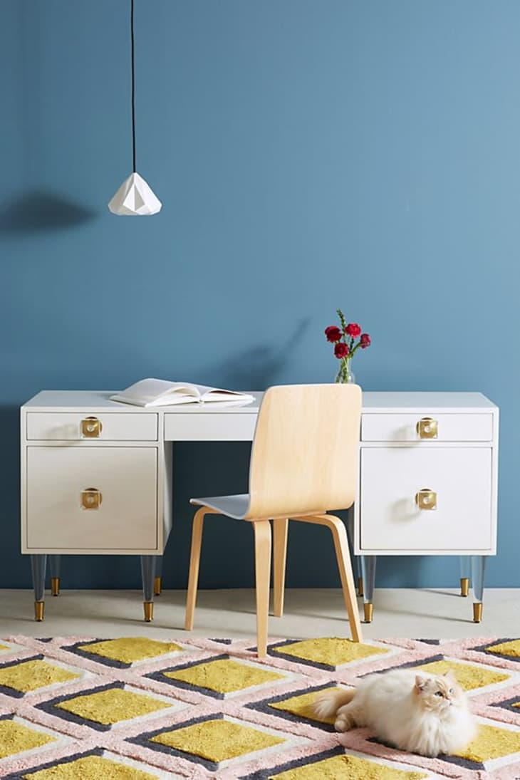 Product Image: Lacquered Regency Desk