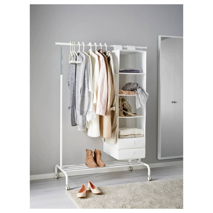The Best Freestanding Wardrobe Clothes Racks Apartment Therapy