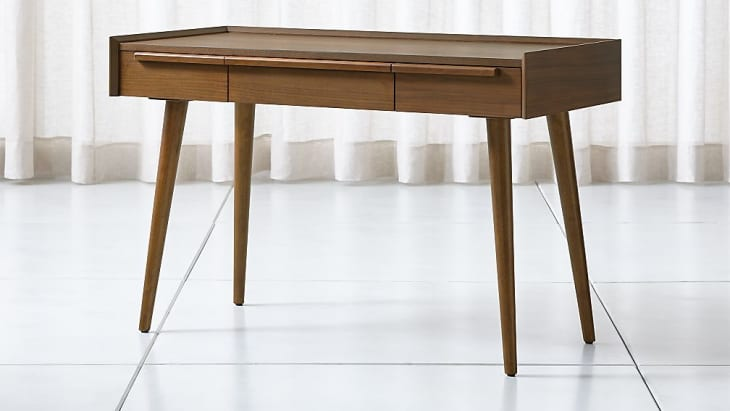 Product Image: Walnut Desk with Power Outlet