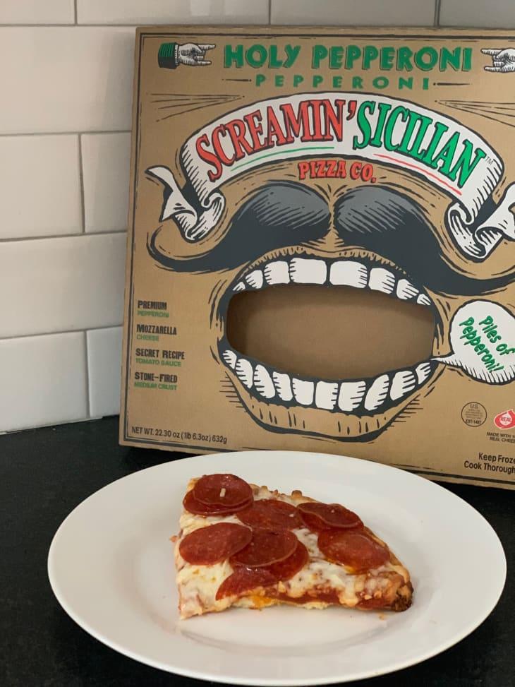 best frozen pizza  thin crust pepperoni cauliflower