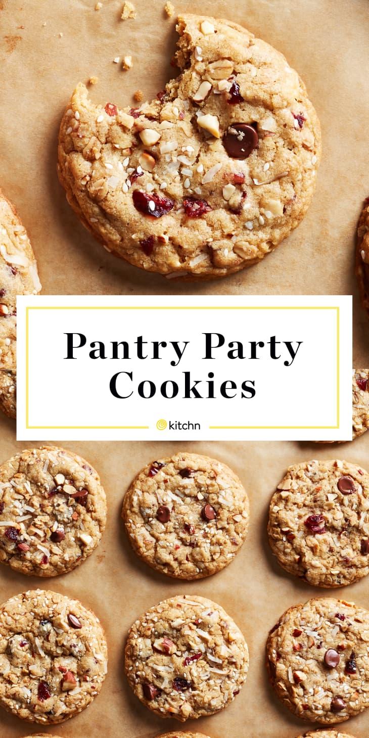 Pantry Party Cookies Custom Pin