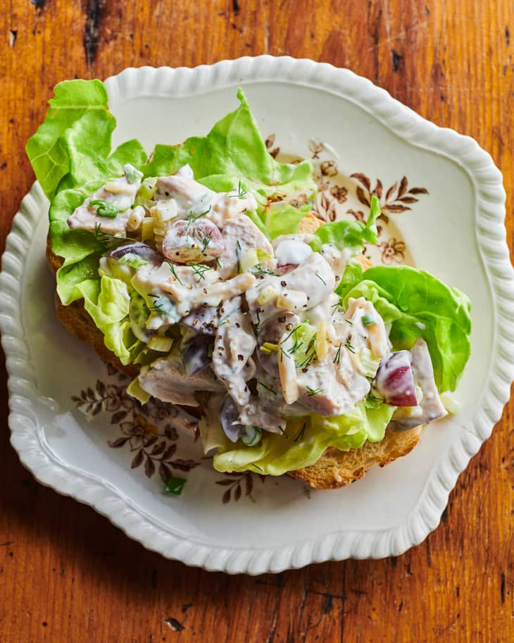 I Tried The Pioneer Woman S Chicken Salad Recipe Kitchn