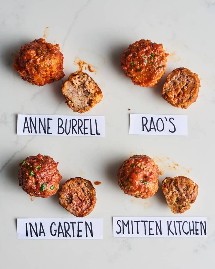 I Tried Four Popular Meatball Recipes And Found The Best One Kitchn