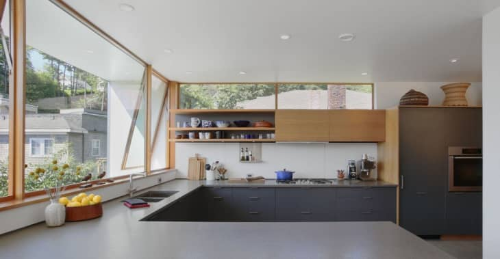 How A Long Window Can Make A Good Kitchen View Even Better Kitchn