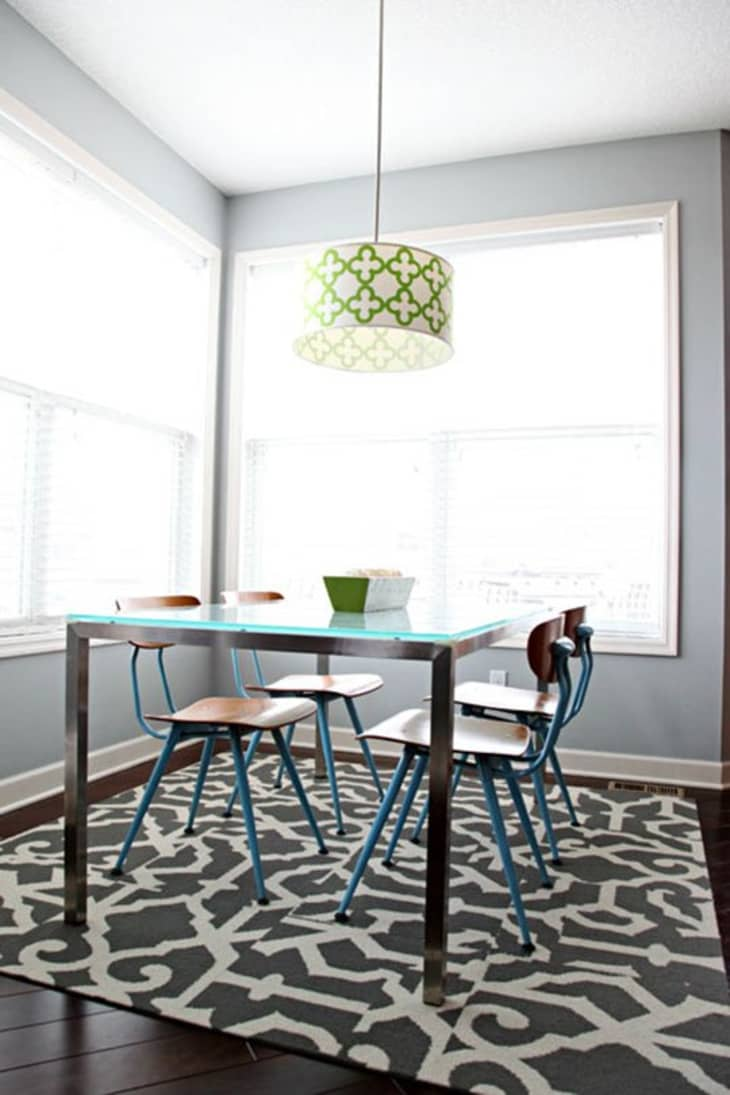 Why Carpet Tiles Are The Right Rug For The Dining Room Kitchn