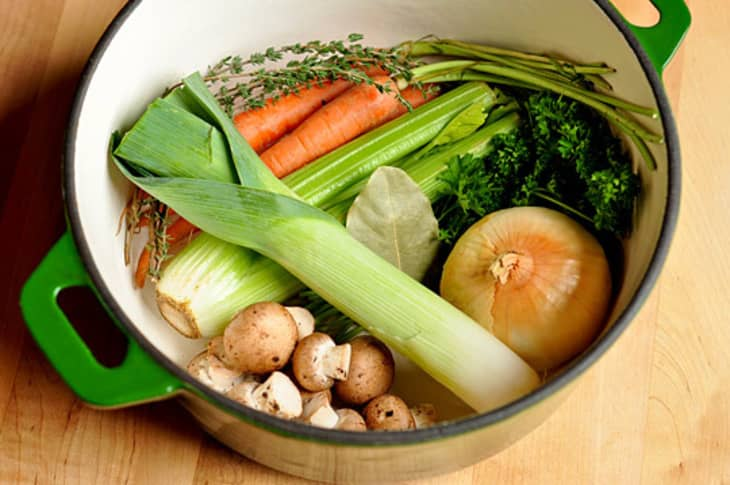 How To Make Vegetable Stock Kitchn
