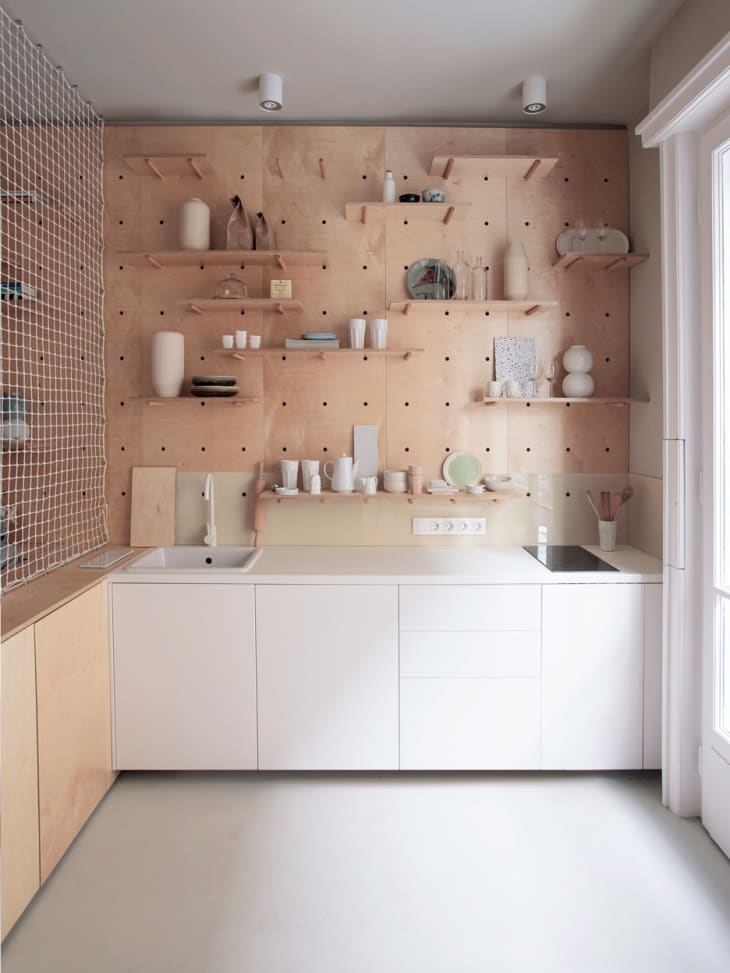 4 Smart Fresh Ways To Use Pegboards In The Kitchen Kitchn