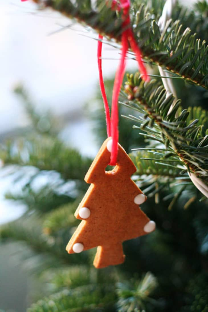 How To Make Gingerbread Christmas Tree Ornaments Kitchn