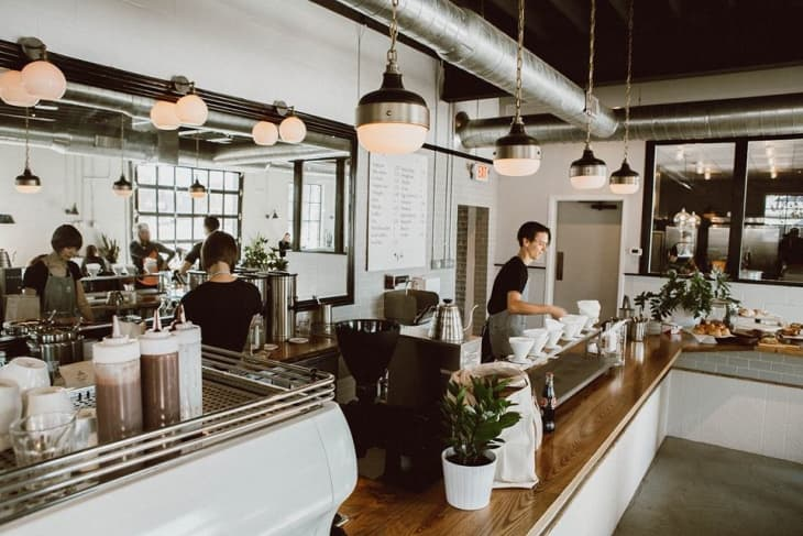 9 Ideas From Stylish Coffee Shops To Inspire Your Own Kitchen Kitchn