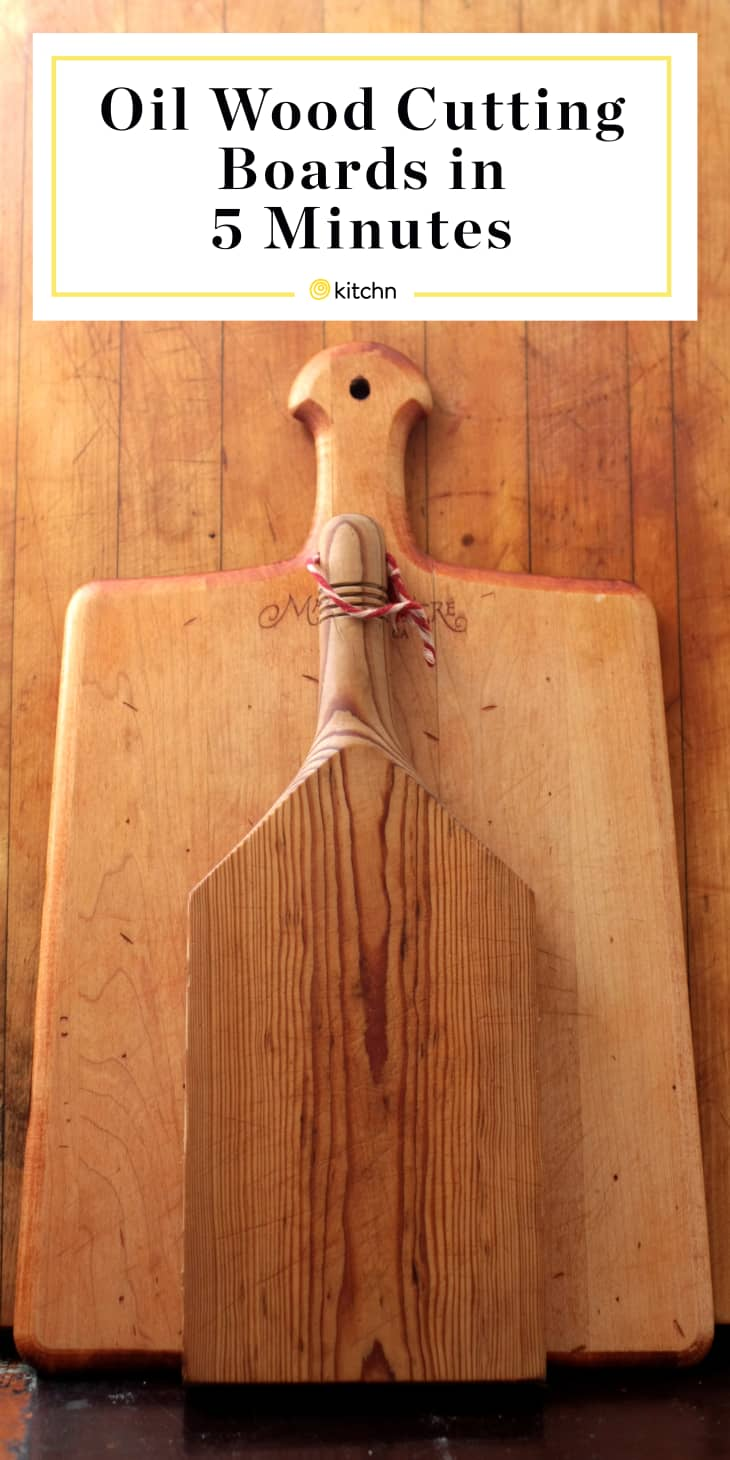 How To Oil Wood Cutting Boards And Spoons Kitchn