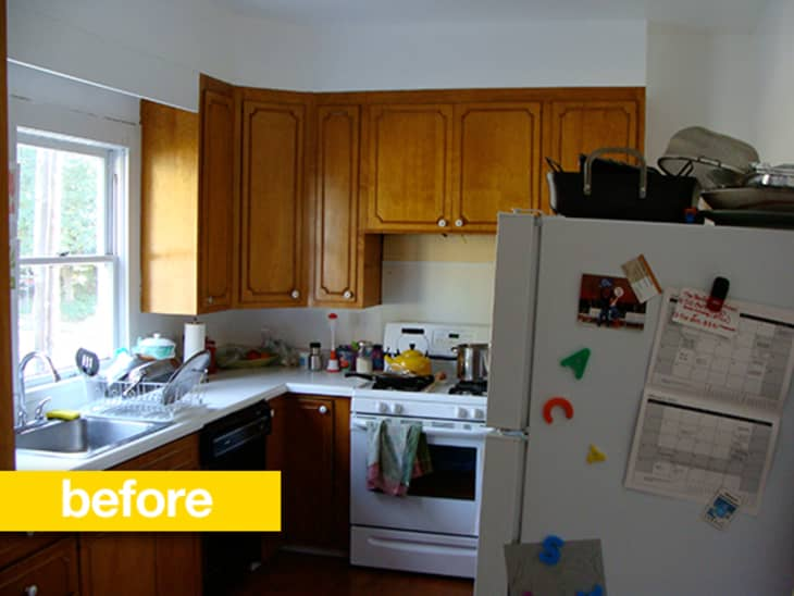 Kitchen Before After A 1970s Kitchen Gets A Jaw Dropping Overhaul Kitchn