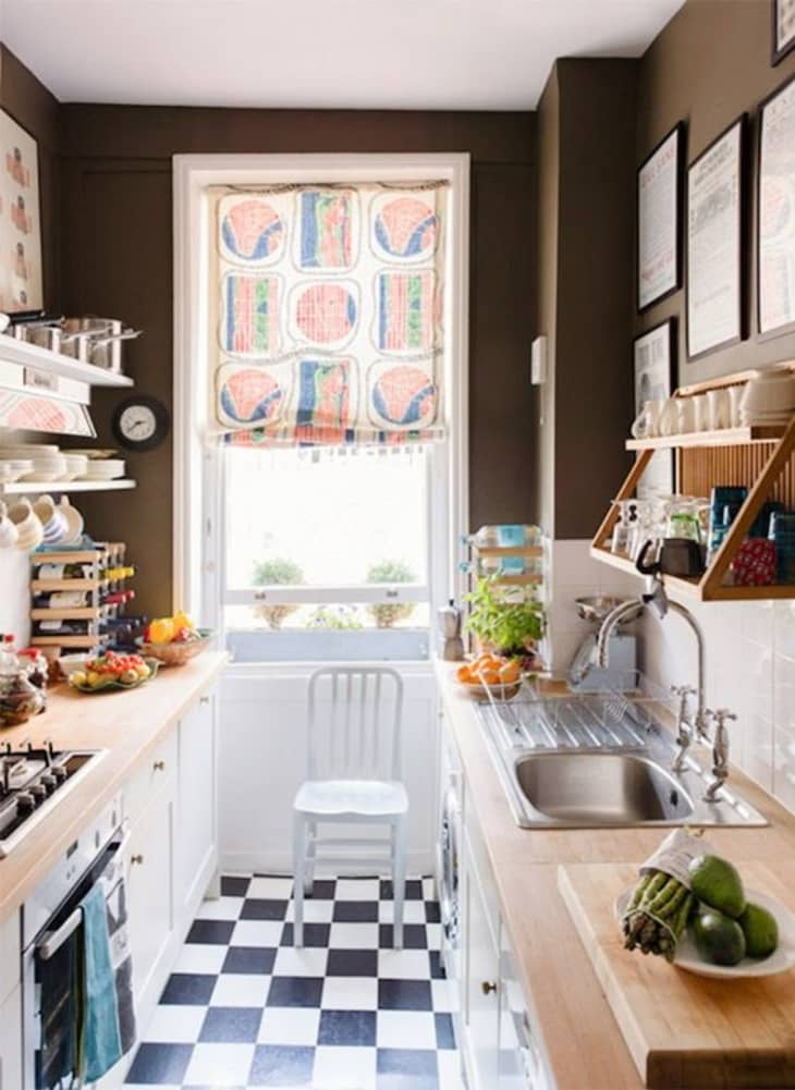6 Brilliant Space Making Solutions For Galley Kitchens Kitchn