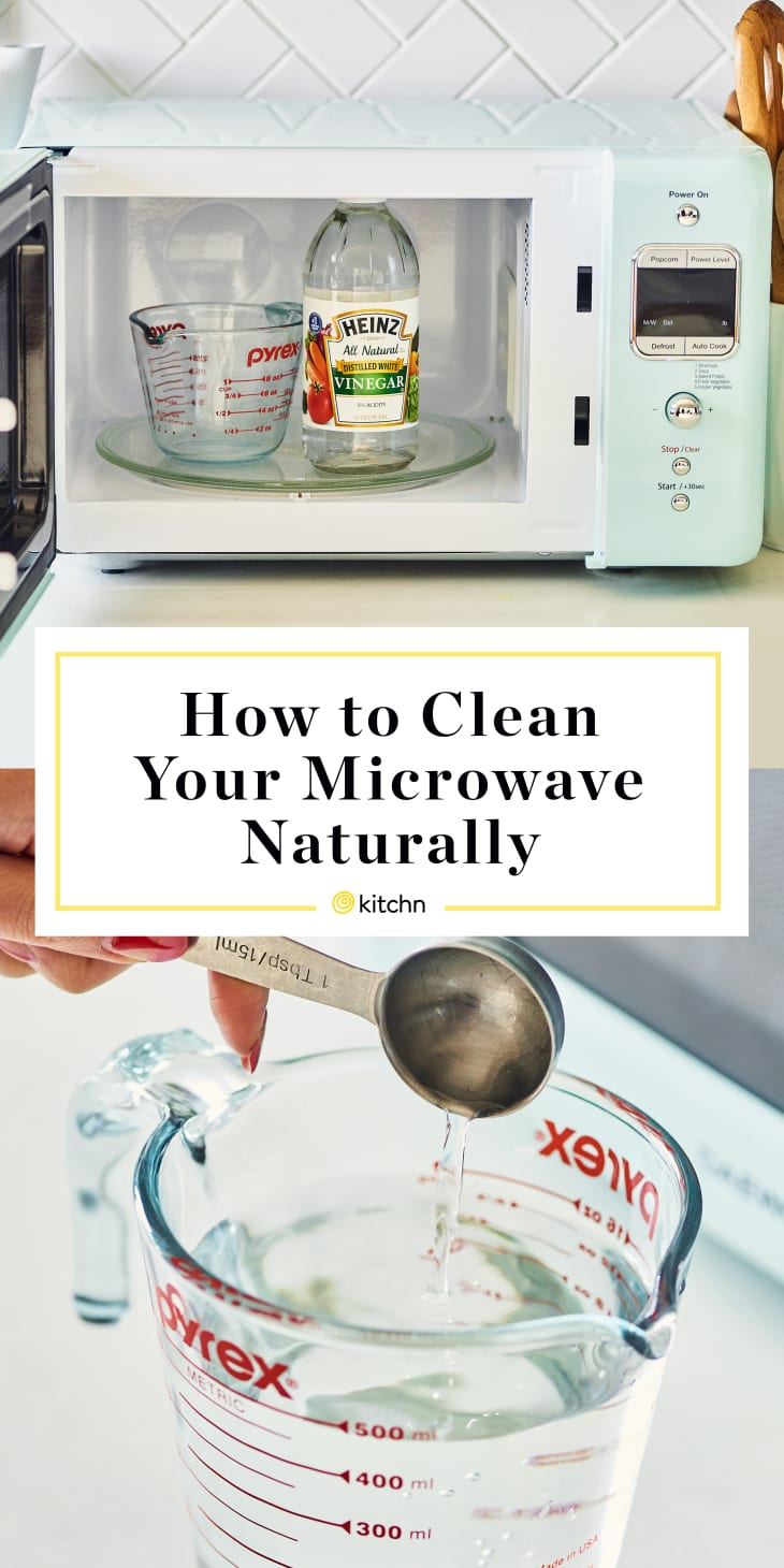 How To Clean A Microwave With Vinegar Kitchn