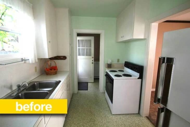 Kitchen Before After A Small 1946 Bungalow Kitchen Gets A Budget 6 000 Update Kitchn