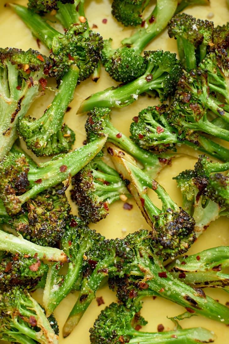 Cheesy Grilled Parmesan Broccoli Kitchn