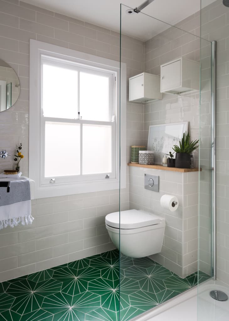 Green Bathroom Ideas Apartment Therapy