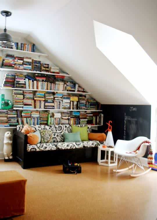 Rooms That Make The Most Of A Sloped Ceiling Apartment Therapy