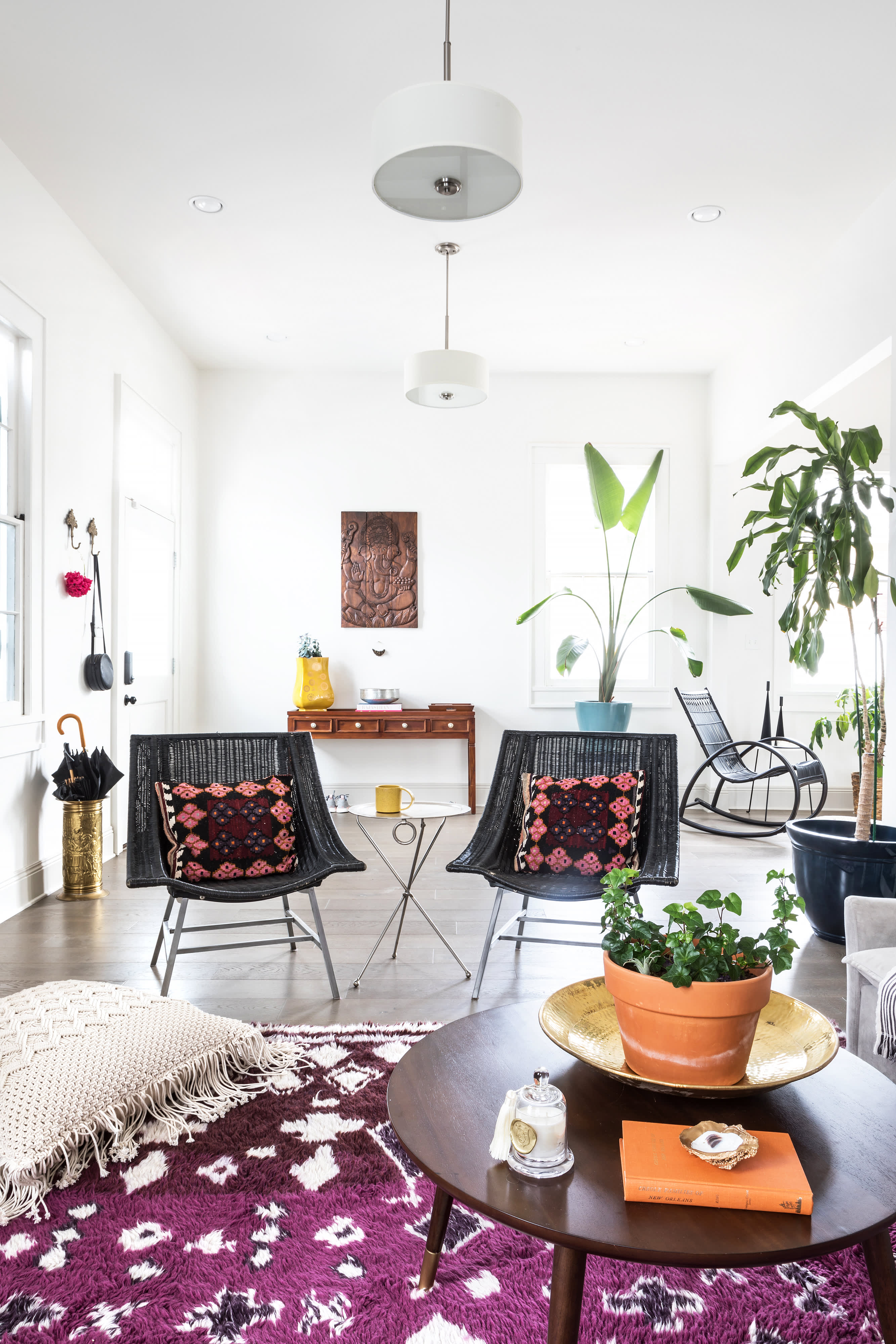 Bohemian Decor Ideas In A Modern New Orleans Home Apartment Therapy