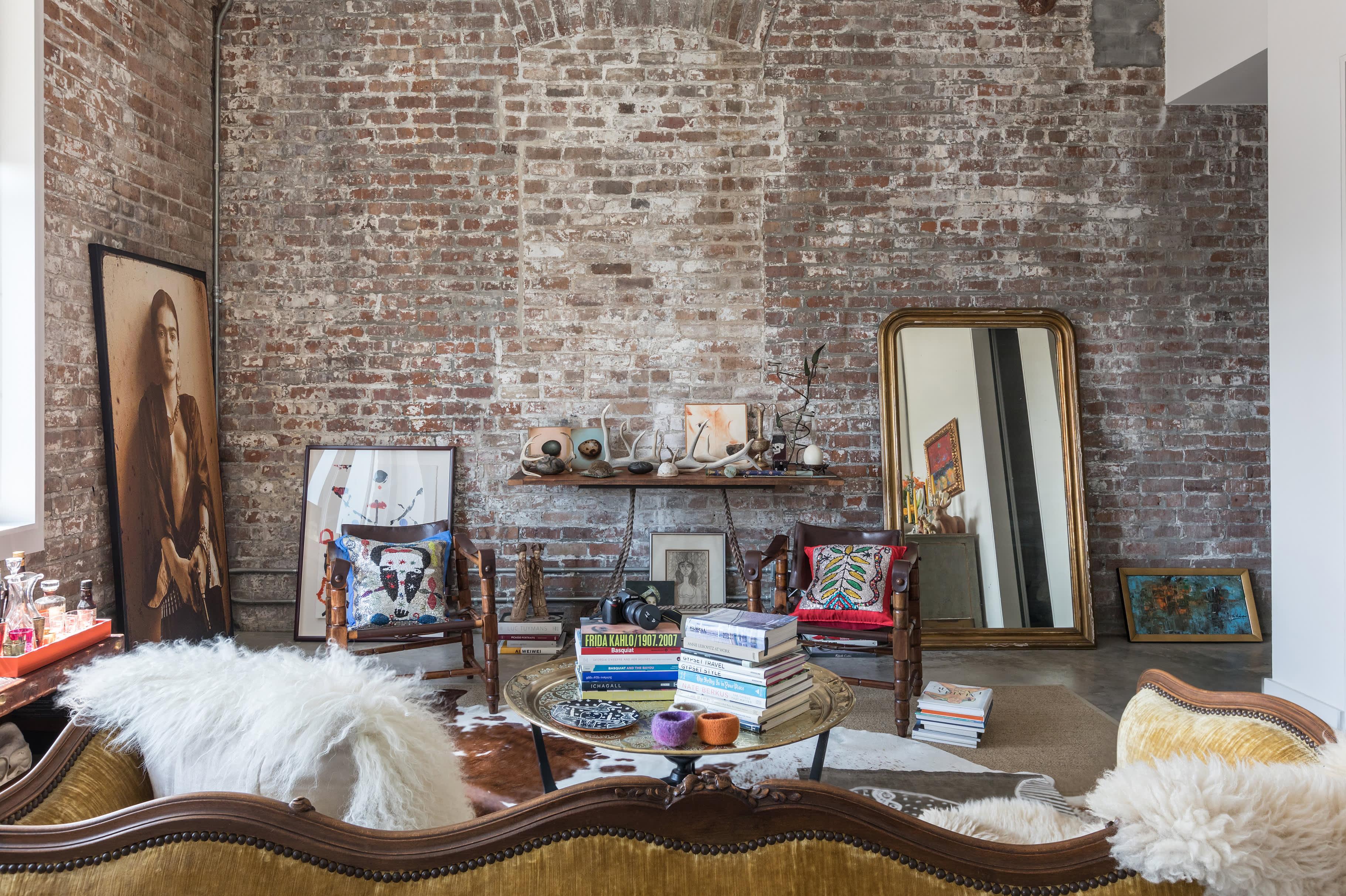 New Orleans Home Tour: A Downtown Art-Filled Loft ...