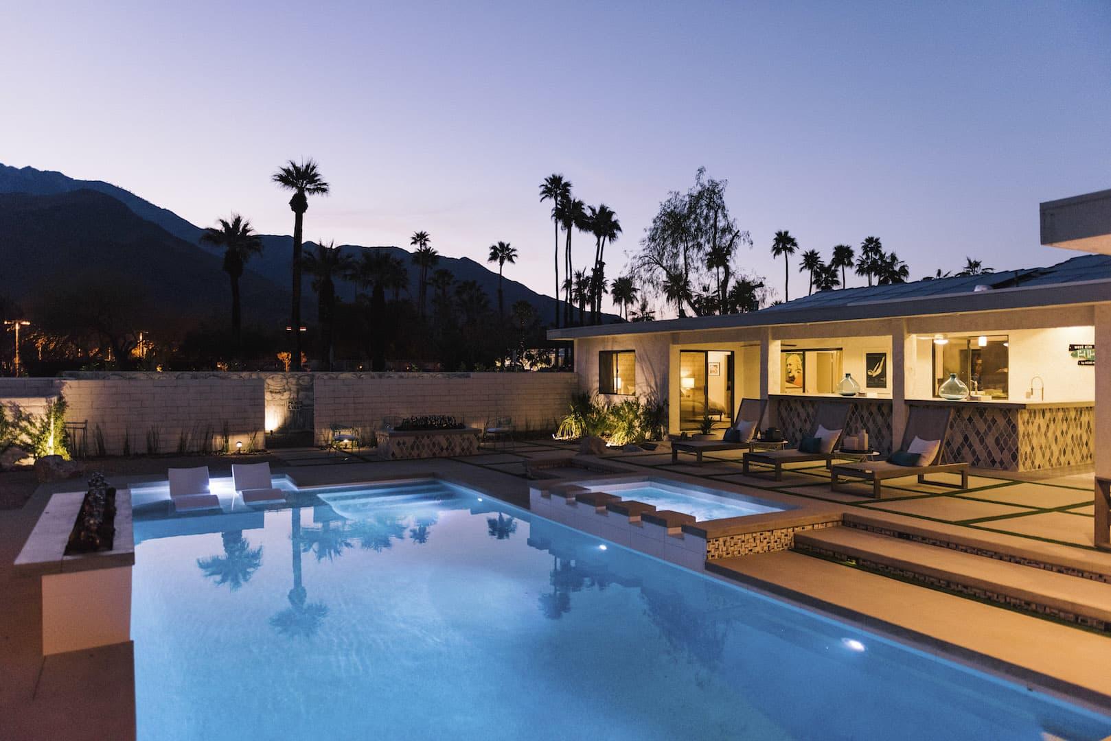 West Elm Palm Springs Rental Modernism Week Photos ...