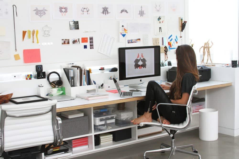 Work It High Style High Tech Home Offices Kitchn