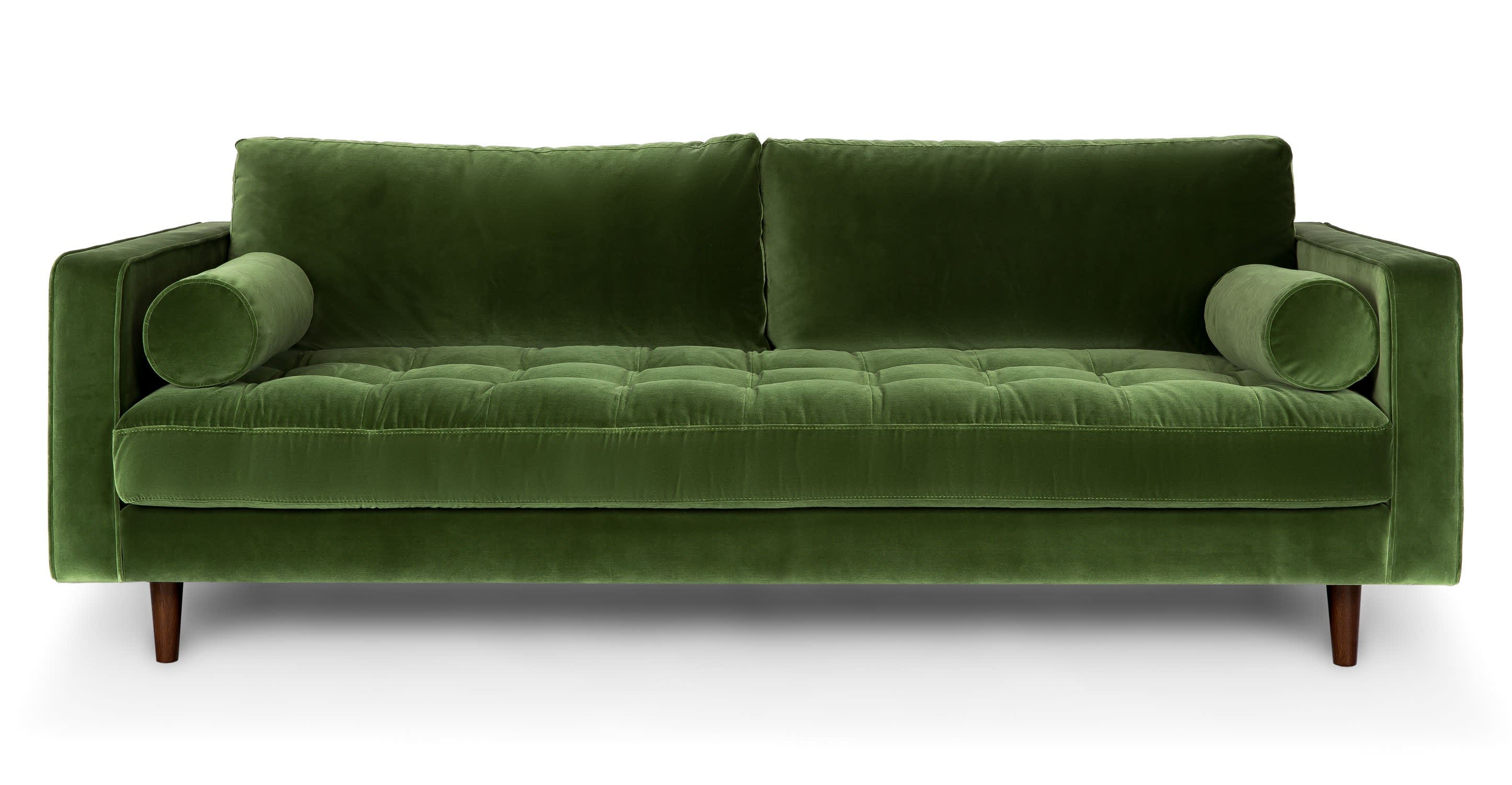 A Guide To Green Sofas 20 Stylish Options Apartment Therapy