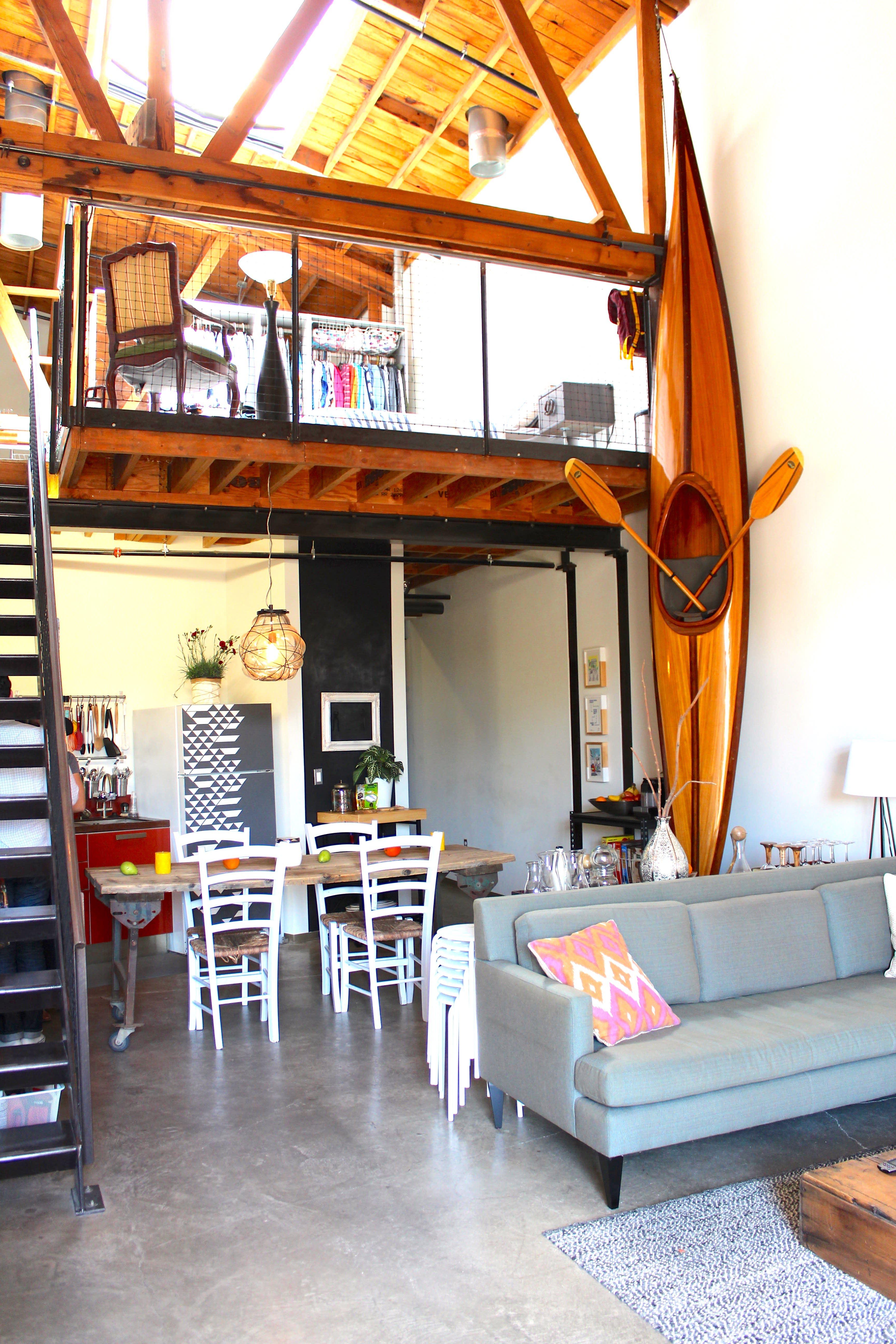 Austin & Jenny's Sunny LA Loft | Apartment Therapy