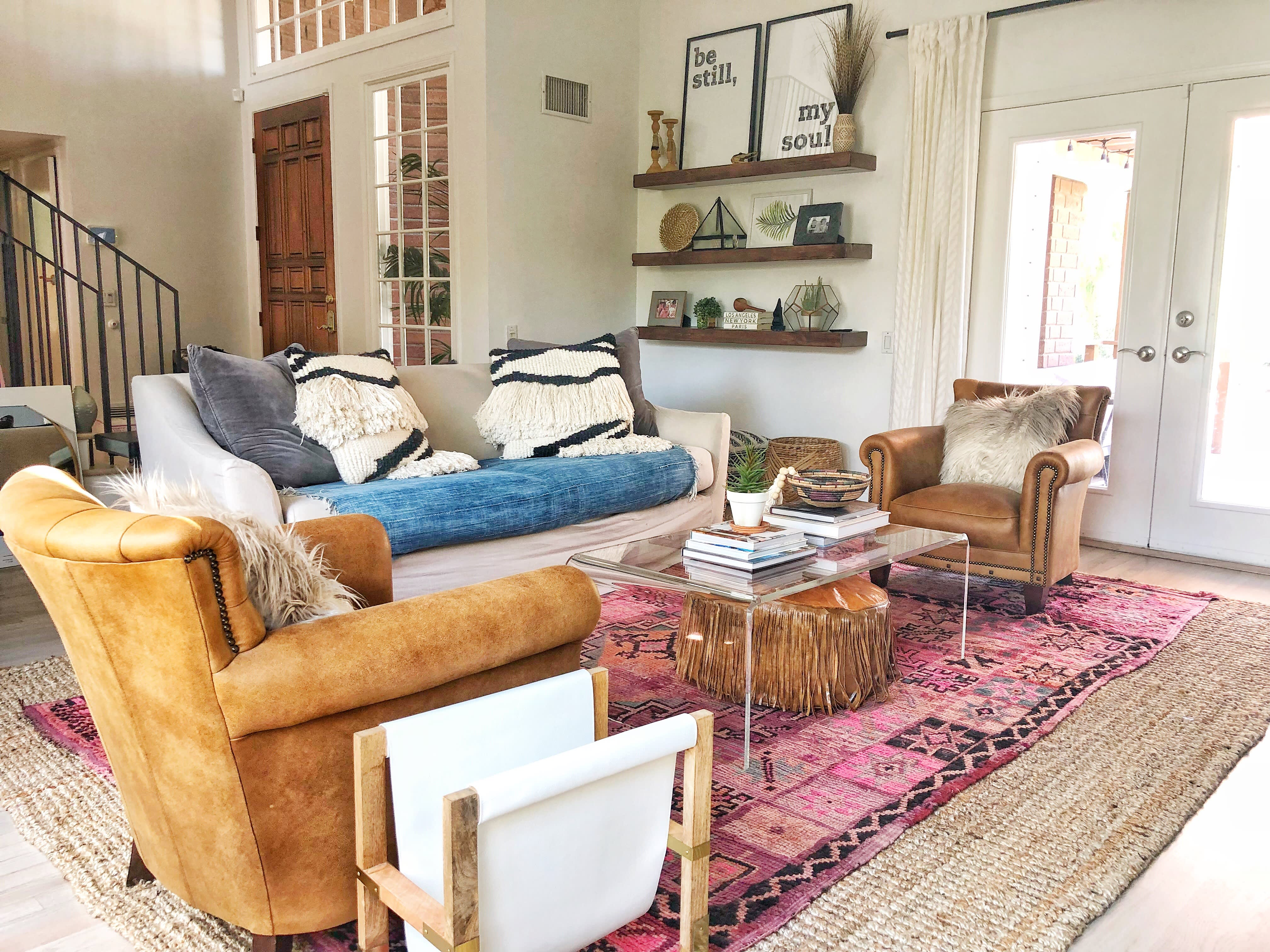 Traditional Home Bohemian Remodel Inspiration | Apartment ...