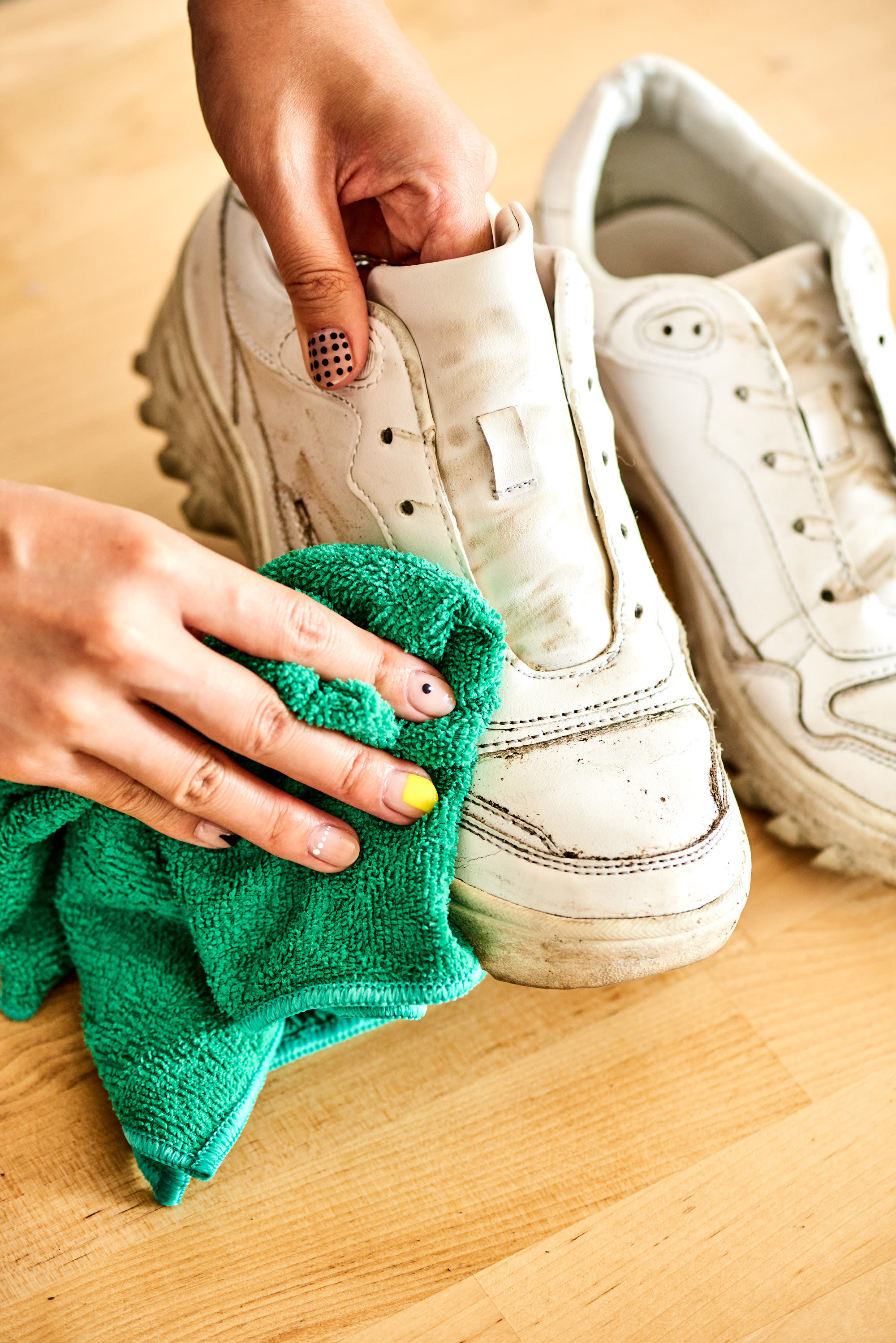 How To Clean White Shoes Apartment Therapy