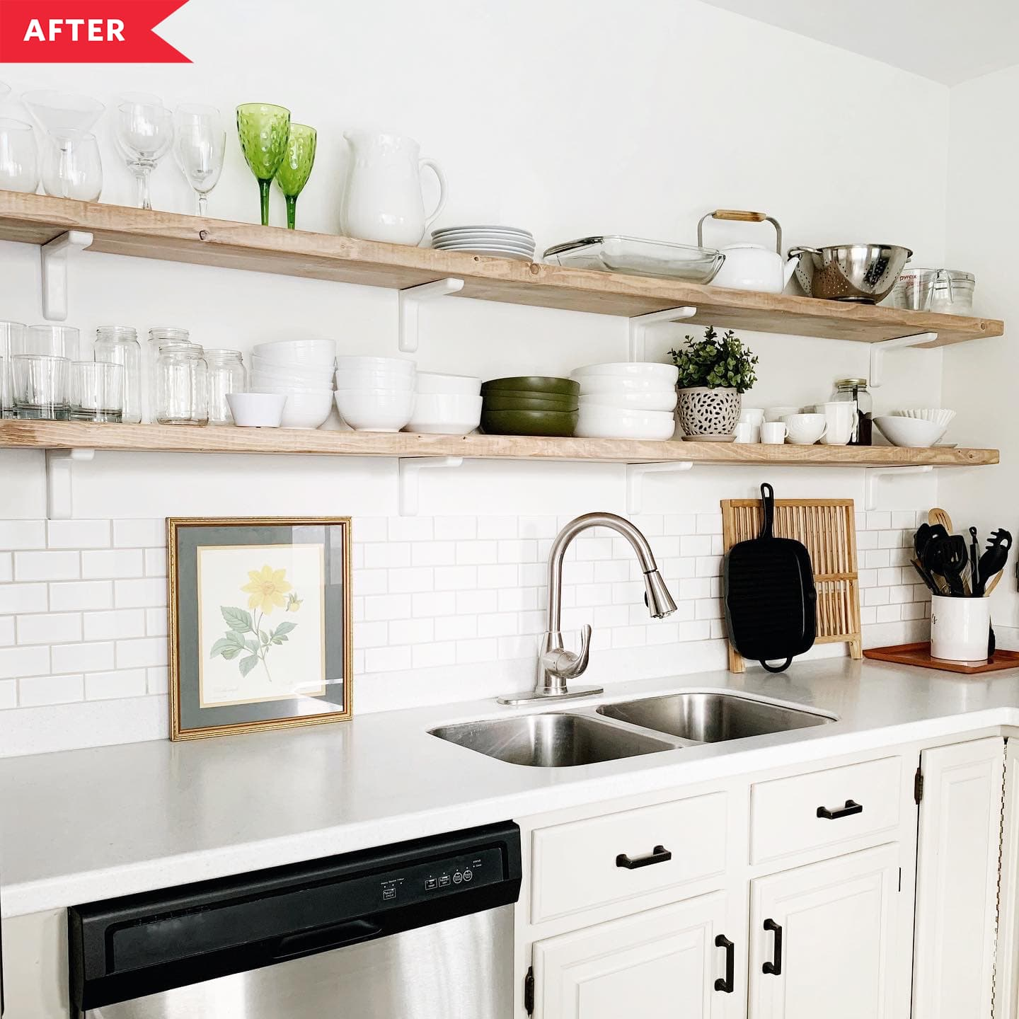 A Small Apartment With Big Dreams: Best Kitchen Before And After