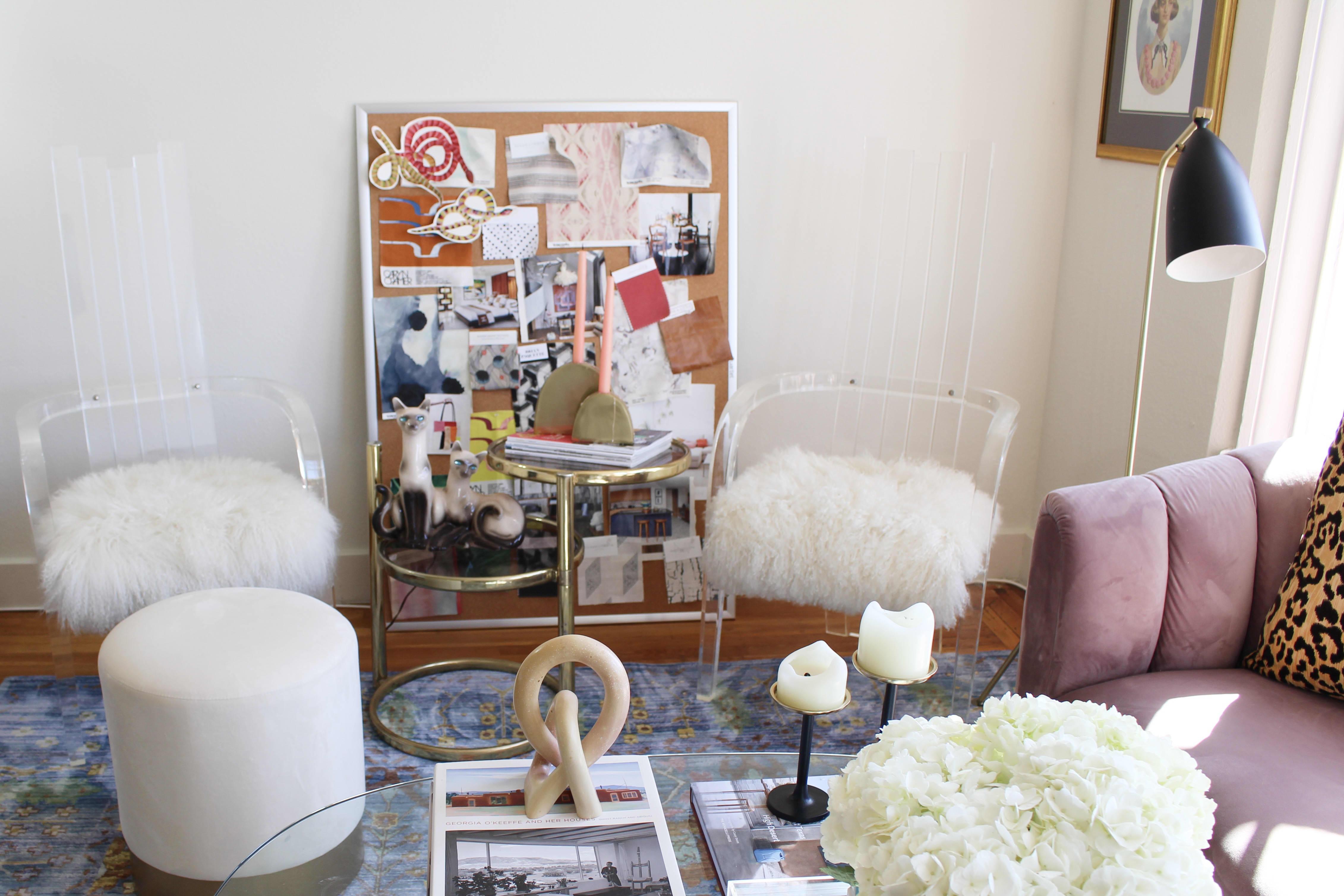 Small Studio Apartment Glam Decor Ideas Apartment Therapy
