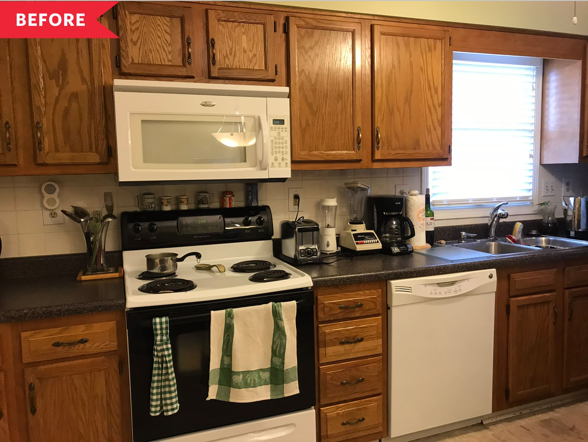 Townhome Kitchen Remodel Makeover Photos Apartment Therapy