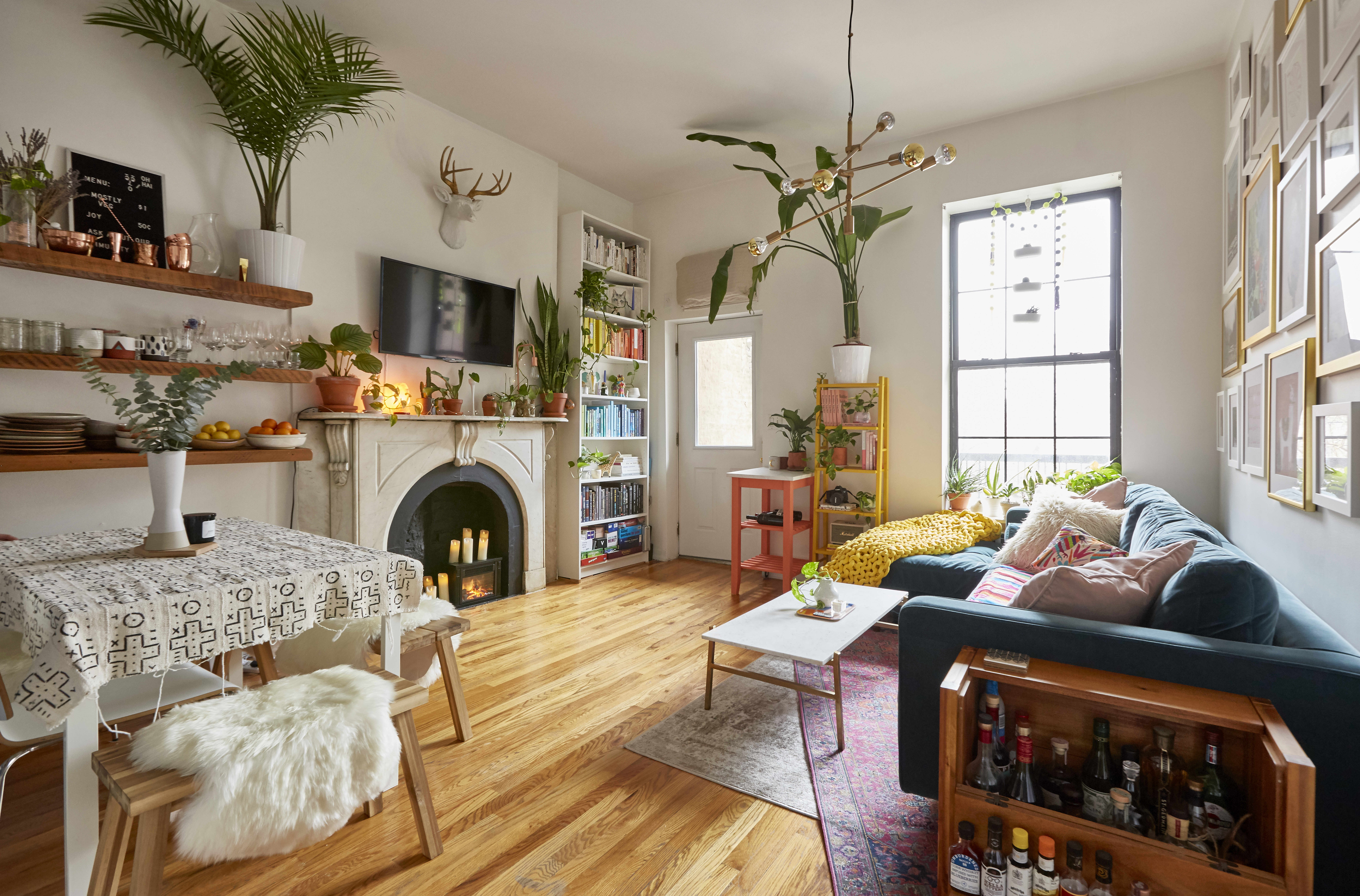 Liz Moody Colorful Brooklyn Apartment Photos Apartment Therapy
