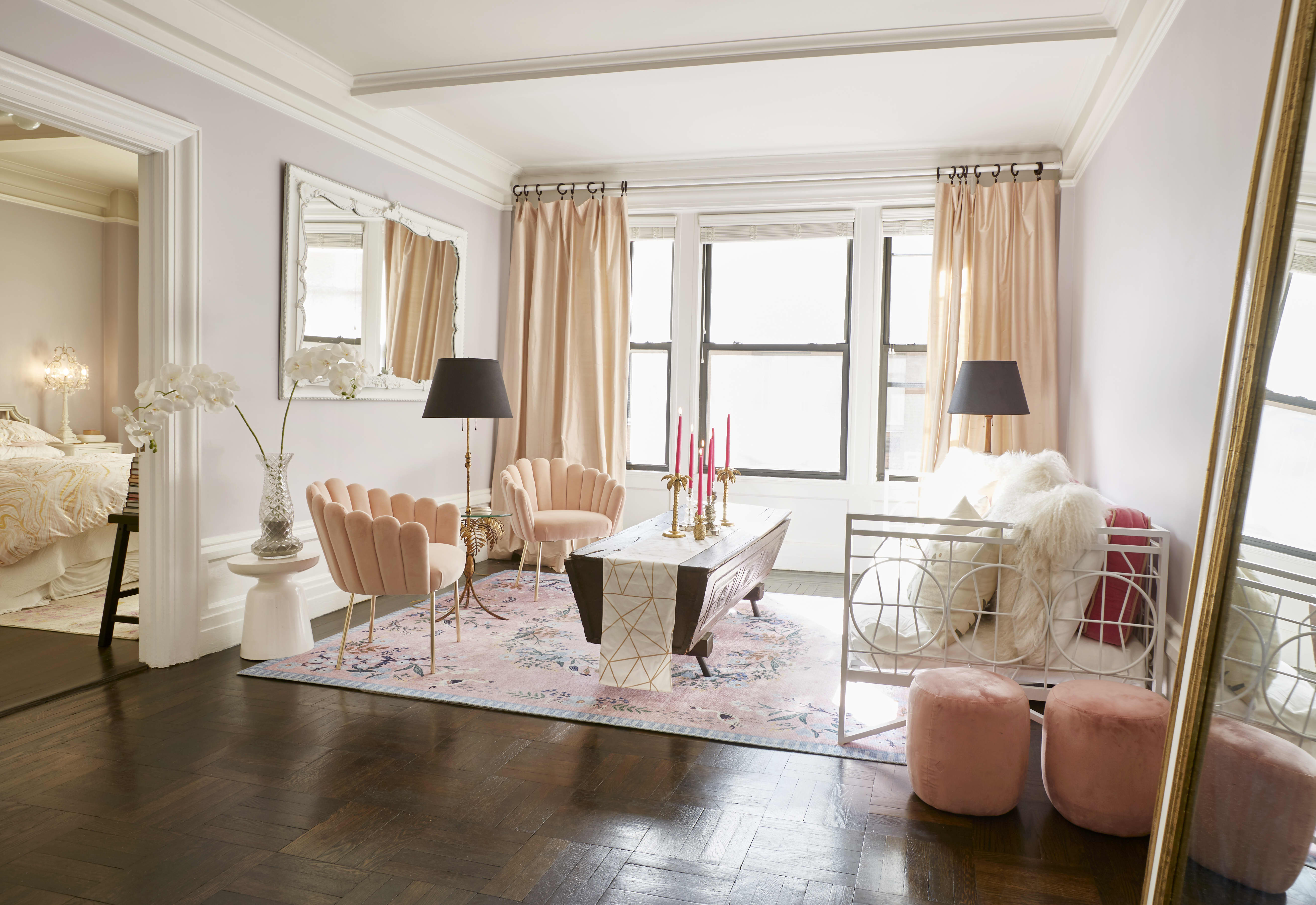 Lavender And Feminine Nyc Apartment Photos Apartment Therapy