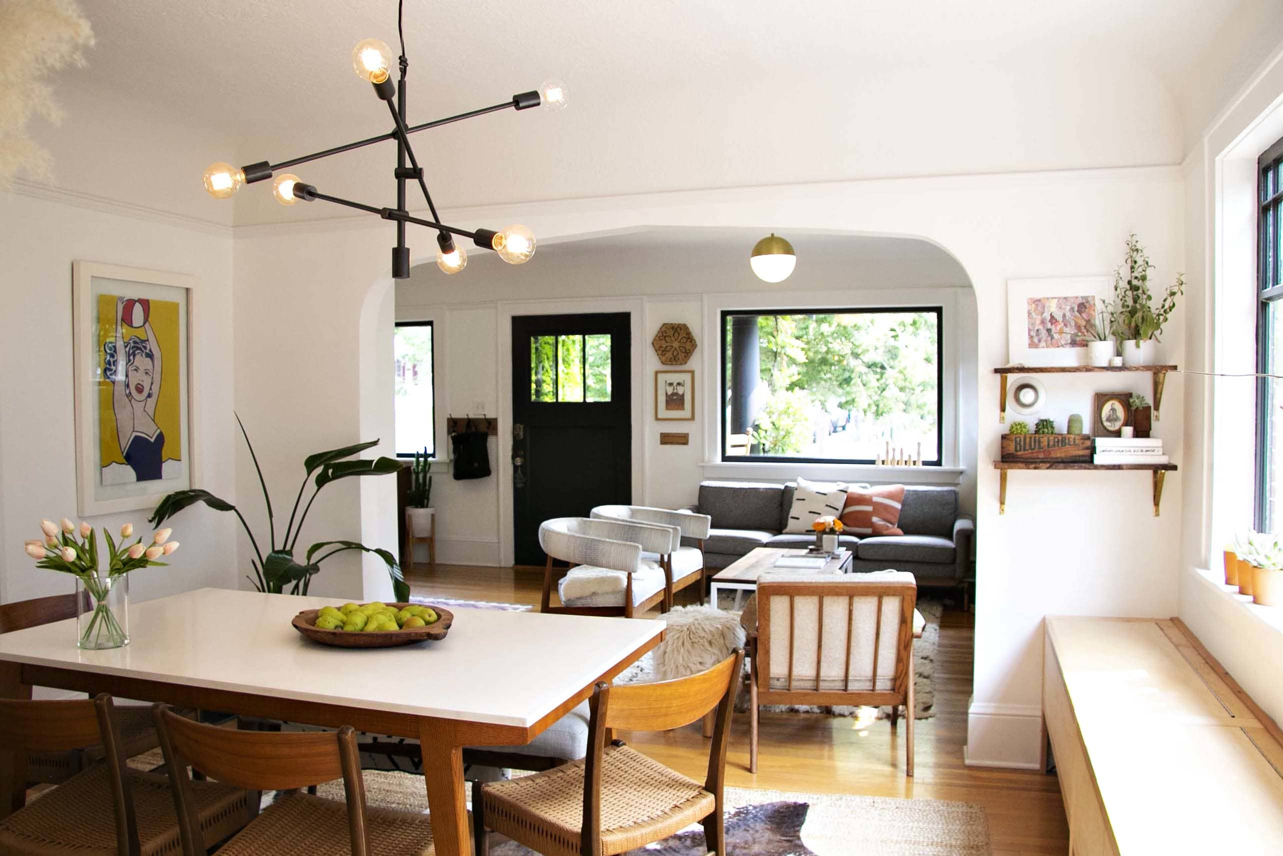 Scandinavian Inspired Small Portland Bungalow Tour Apartment Therapy
