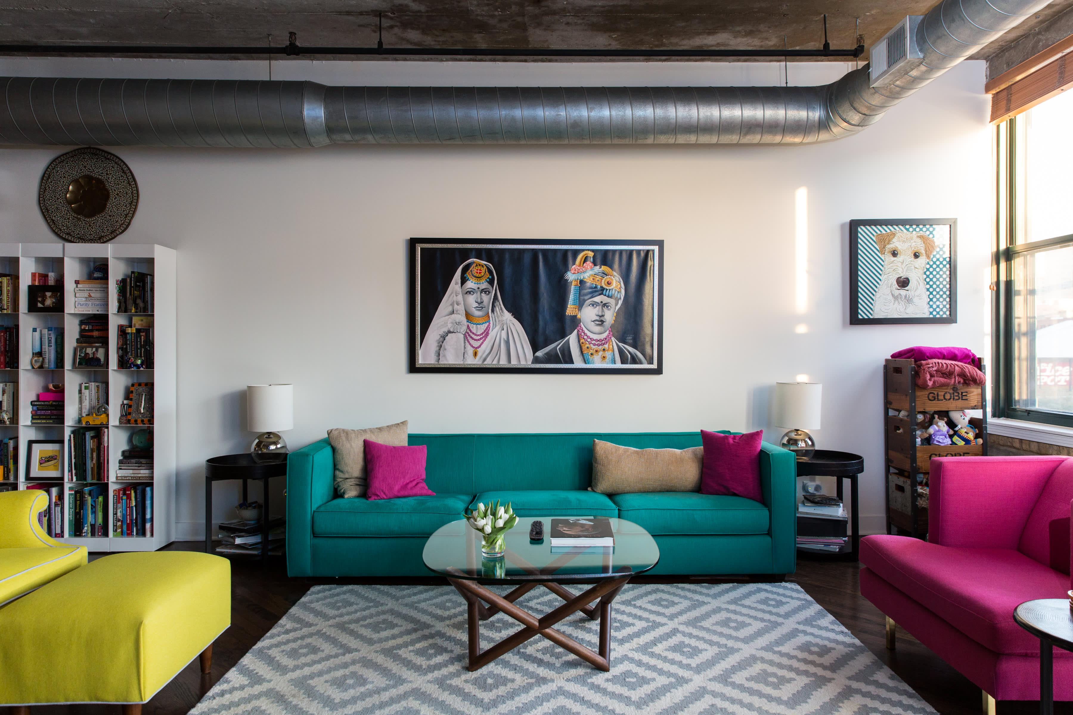 Colorful Chicago Loft Apartment Tour Apartment Therapy