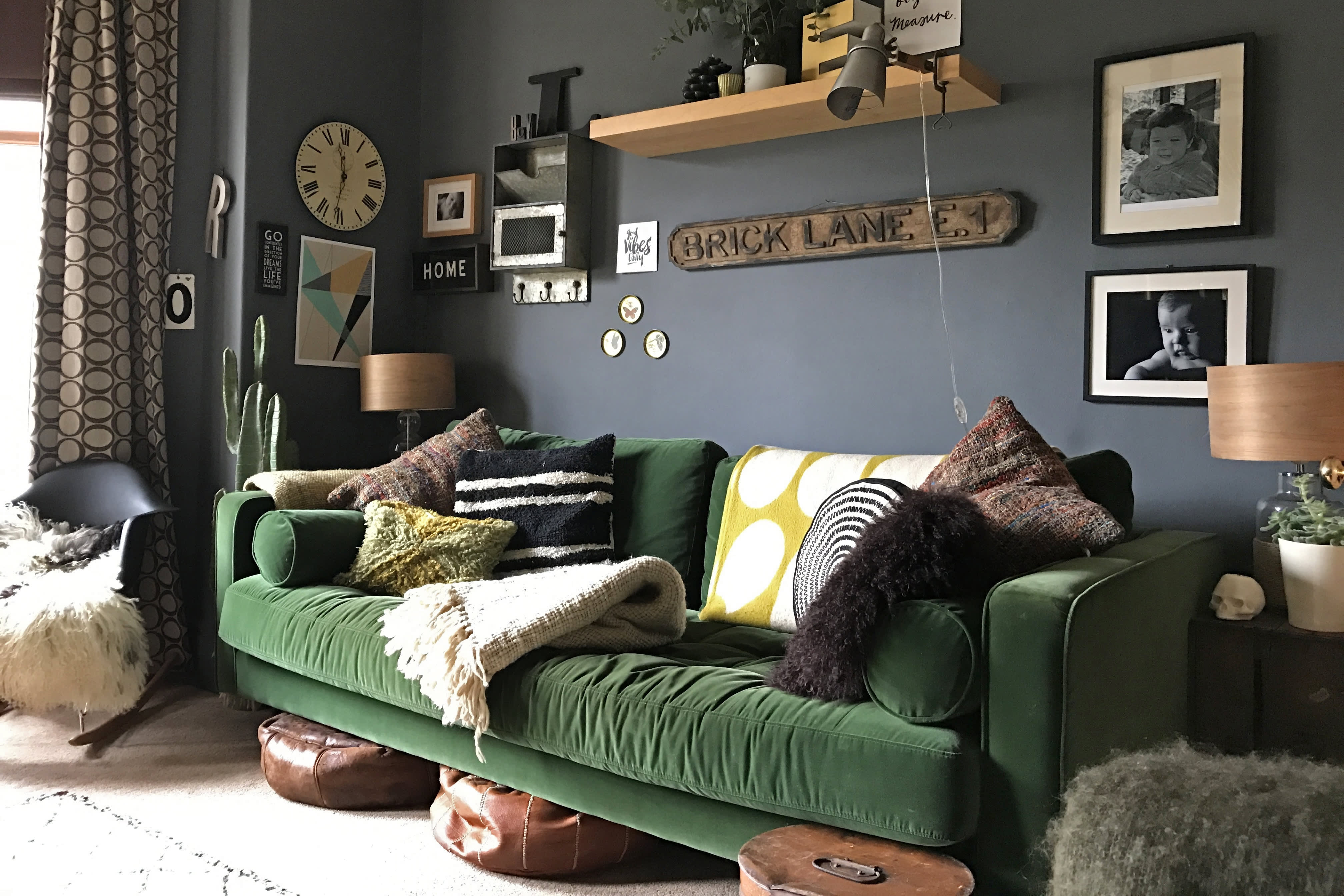 House Tour A Dark Dreamy Victorian House In The Uk Apartment Therapy